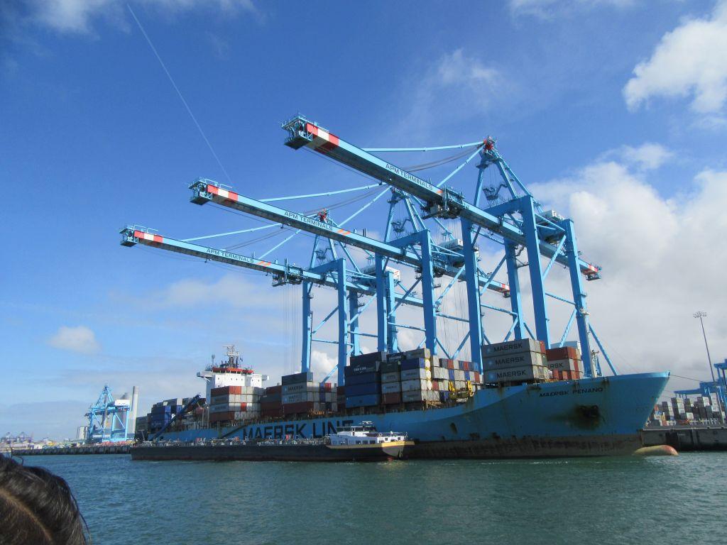 Workshop mit dem Logistik – Team des Hafens Rotterdam